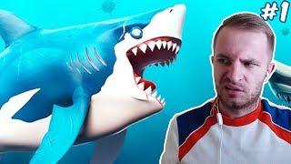 АКУЛА ХОЧЕТ АМ-АМ | Hungry Shark World #1
