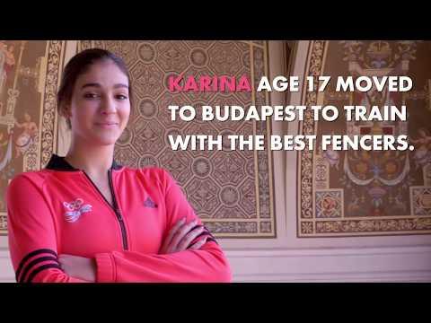 Karina Dyner CRC // Fencing Costa Rica