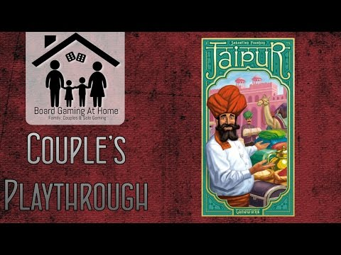 Jaipur Playthrough (Card Game Gameplay Overview, Runthrough & Review)
