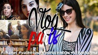 VLOG PARIS - Desfiles Chanel, Valentino, CityPharma, Eurocentres e mais!