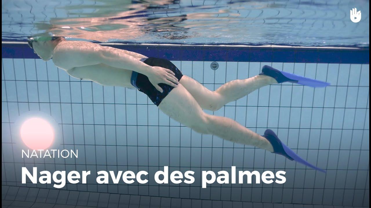 Comment nager avec des palmes | Vaincre sa peur de l'eau