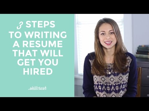 How To Write A Resume That Will Get You Hired In Tech