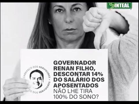Aposentadas protestam contra desconto de 14% em Alagoas