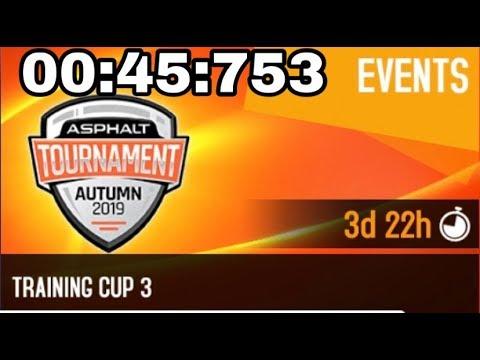 Asphalt 8 Training Cup 3 Oceanview Derby Zenvo TS1 GT 10th Anniversary Edition 00:45:753