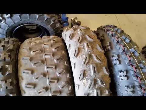 GBC XC Master Tires on a 2018 Yamaha Raptor 700R