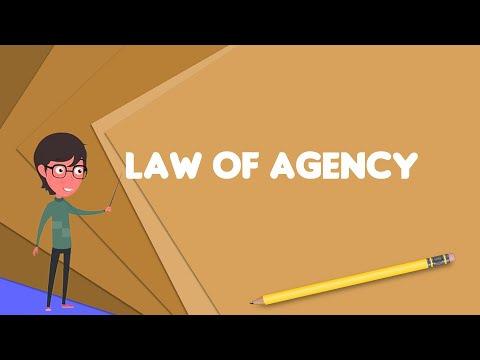 What is Law of agency? Explain Law of agency, Define Law of agency, Meaning of Law of agency