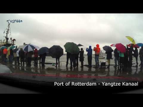 TimeLapse: Port of Rotterdam - Pieter Schelte - Yangtze kanaal (UHD 4k)