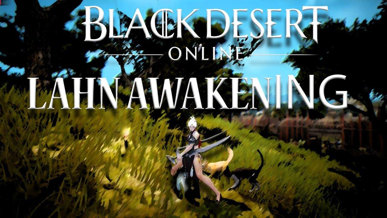 Black Desert Online - 200+ AP / 56 Lahn Awakening Gameplay - PVE