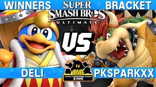 Smash Ultimate - Deli (DDD) vs PKSparkxx (Bowser) - CNB 170 Winners Bracket