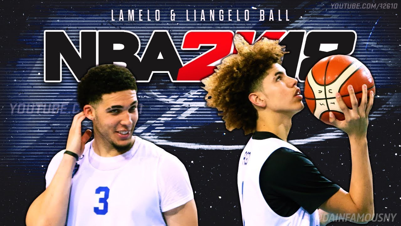 NBA 2K18 – How To Play With LaMelo Ball & LiAngelo Ball Lithuania