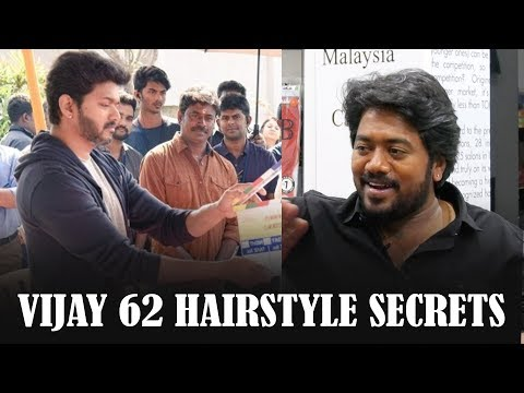 Mersal மீசை! Thalapathy 62 தாடி! VIJAY-யின் Ultimate Feedback | Celebrity Hair Stylist Dev PART 2