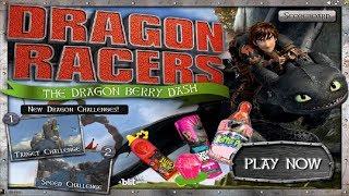Игра Гонки на Драконах Game of Racing in the Dragons смотреть онлайн бесплатно новый викинг Иккинг