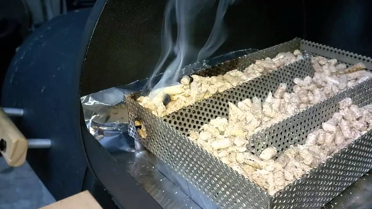 Cold Smoking Cheese With The Flaming Coals Ez Smoker Youtube