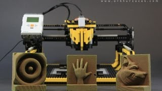 LEGO 3D Milling Machine -