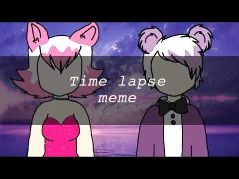 Time lapse meme :3 fnaf f.t foxy and f.t Freddy