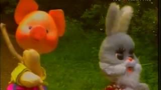 СССР.Один из выпусков телепередачи для маленьких.'Спокойной ночи,малыши'.