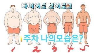 [다이어트 브이로그 #2] 초고도비만, 1주차~식이요법…
