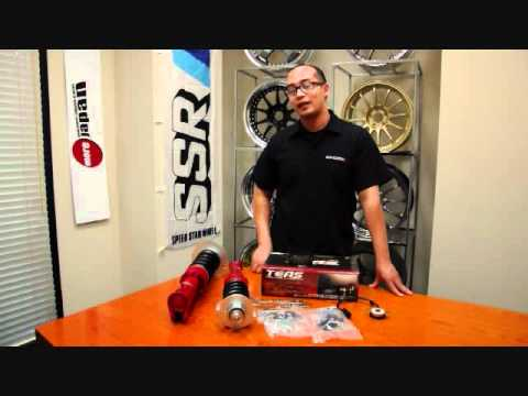 More Japan TV Review 23 - Tanabe Pro FIVE Coilover and TEAS Unit