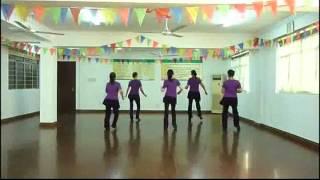 Sideway Shuffle - Line Dance (Demo)