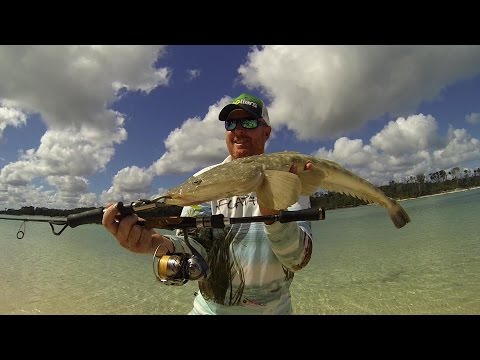Fishing Coongul Creek Fraser Island Flathead Stalking