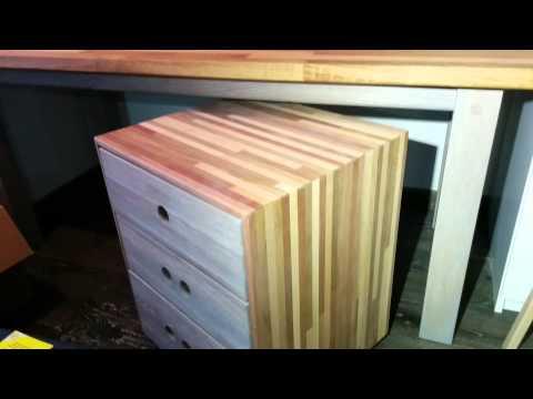 Мебель из нескольких пород дерева