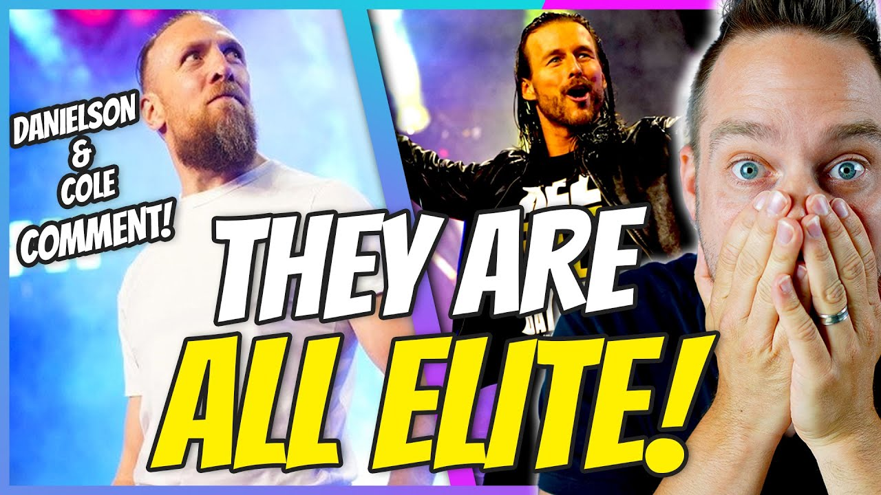 Bryan Danielson, Adam Cole Explain Joining AEW After WWE Exit ...