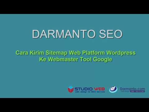 Cara Kirim Sitemap web Platform Wordpress ke Webmaster Tool Google