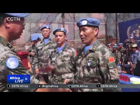 Chinese contingents in South Sudan feted for their efforts