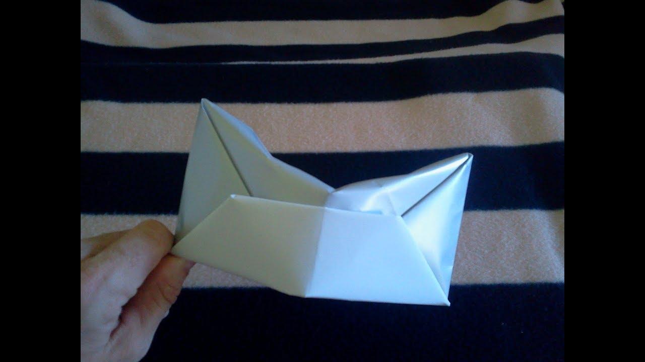 Origami Diy Tutorial Soldiers Hat Sombrero De Soldado De Papel