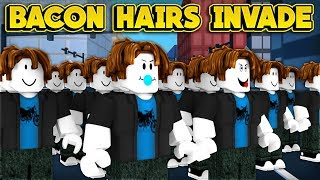 BACON HAIRS ARE INVADING JAILBREAK! (ROBLOX Jailbreak)
