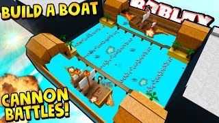 *INSANE* AUTOMATIC CANNONS💣| Build a boat For Treasure ROBLOX