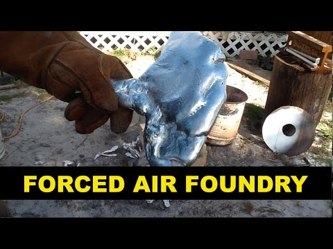 Aluminum Motor vs Forced Air Foundry