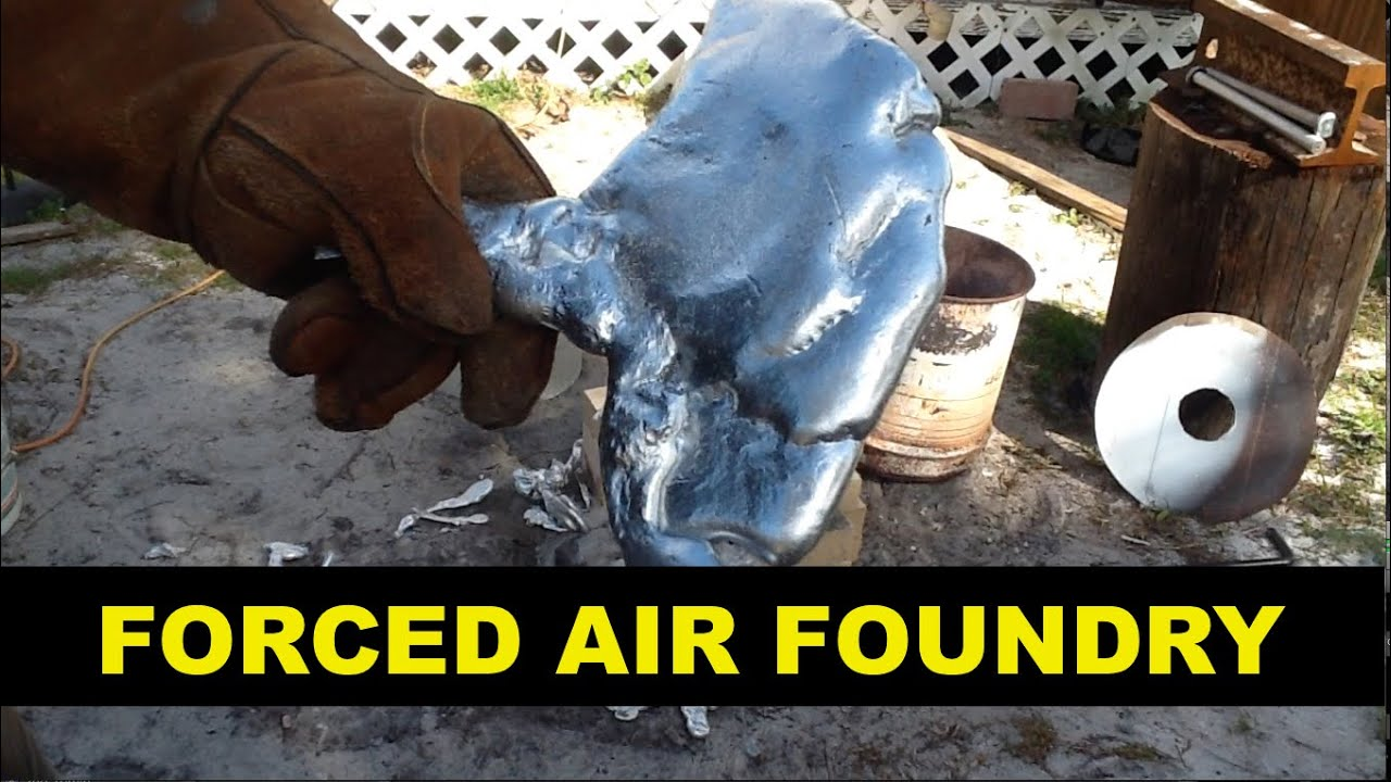 aluminum motor vs forced air foundry youtube