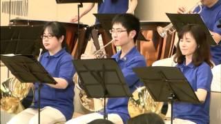 5月14日、蒲郡市民会館での「新城市ほうらい吹奏楽団」の演奏です。