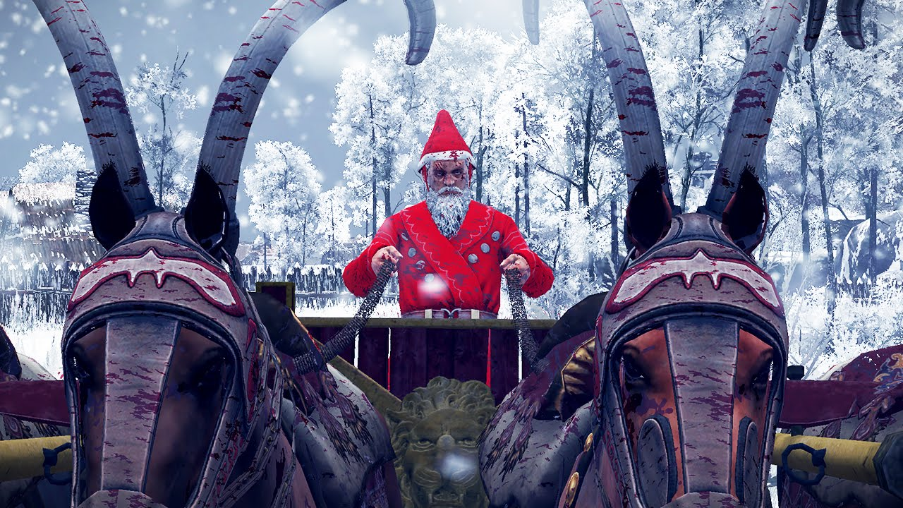 santa claus and 10000 christmas elves vs 1000 warriors rome 2 total war - Santa And Christmas 2
