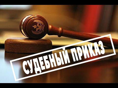 Судебный приказ. Судебный участок №7, г.Петрозаводск. Мировой судья Дмитриева И.Н. и ее секретарь.