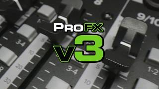 ProFXv3 Series - Professional Effects Mixers with USB