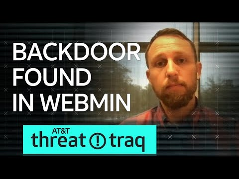 8/23/19 Backdoor Found In Webmin   AT&T ThreatTraq