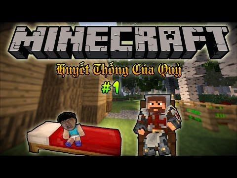 Minecraft Huyết Thống Của Quỷ - Tập 1: HUYỀN THOẠI ĐƯỢC SINH RA