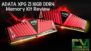 ADATA XPG Z1 16GB 2400Mhz DDR4 RAM Kit Review