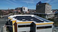 33.06 kW Solar System at 433 West, Durham, North Carolina