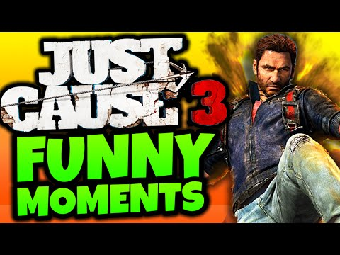 "Just Cause 3: Funny Moments - ""HARDEST BASE TAKEOVER!"" - (JC3 Funny Moments)"