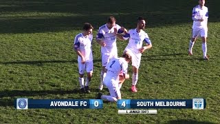 NPL 2015 (R25) Avondale FC v South Melbourne :: SMFC TV