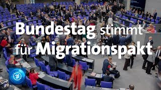 UN-Migrationspakt: Abstimmung im Bundestag