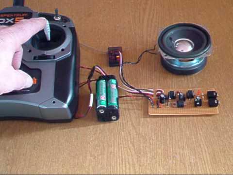 Alan Bond S Marine Engine Sound Unit Petrol Version