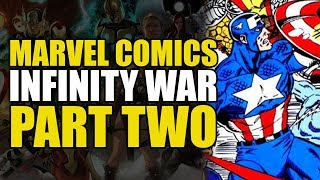 Infinity War Part 2: The Earth's Superheroes Destroyed!?