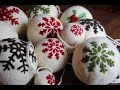 DIY How to make felted wool balls for outdoor Christmas tree, fast and easy. Bola Nadal feltre:Navid