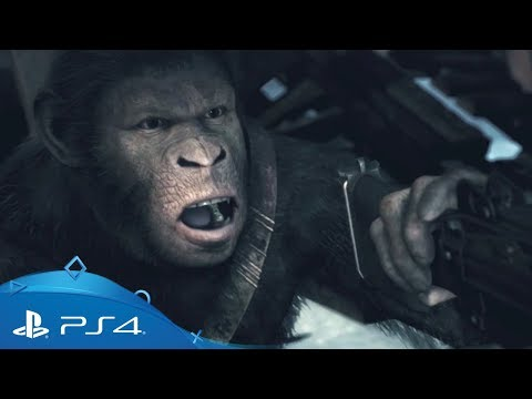 Planet of the Apes: Last Frontier | Launch Announcement Trailer | PS4