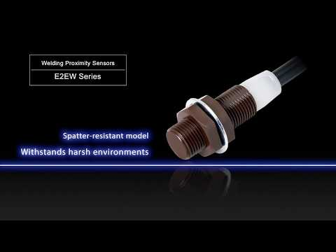 Reliable detection for iron and aluminum with new OMRON E2EW Series metal face proximity sensors