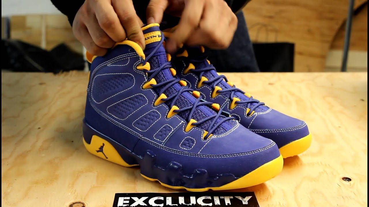 info for 4bac7 db037 ... coupon for air jordan retro 9 calvin bailey unboxing exclucity youtube  afb1d a9dce